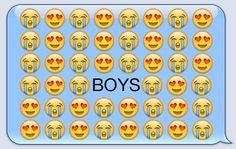 Emojis says it all, y'all.