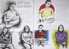 Sketchbook observational studies