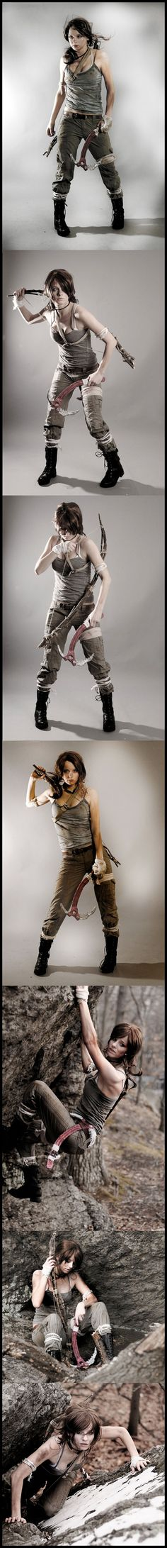 Lara Croft #Cosplay by Donttellme.