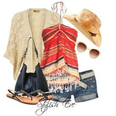 I love this outfit. It's perfect for the campfire tonight!