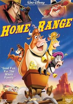 Rent Home on the Range starring Roseanne Barr and Judi Dench on DVD and Blu-ray. Get unlimited DVD Movies & TV Shows delivered to your door with no late fees, ever. Film Disney, Disney S, Disney Movies, Em Breve Nos Cinemas, Roseanne Barr, Judi Dench, Childhood Movies, Home On The Range, Disney Home
