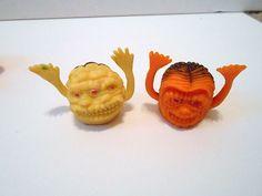 15 Vintage Oily Rubber Jiggler Uglies Monster Creatures Finger Puppet   eBay