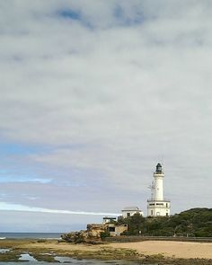 Point Lonsdale lighthouse sentinel at The Heads Port Phillip Bay. It is quite strange looking at a familiar location from the opposite direction it plays havoc with your perspective of the usual. by bowerbirdandco http://ift.tt/1JO3Y6G