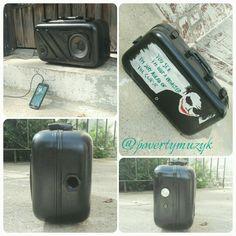 #PovertyMuzyk #Custom #stereos #Joker #upcycled