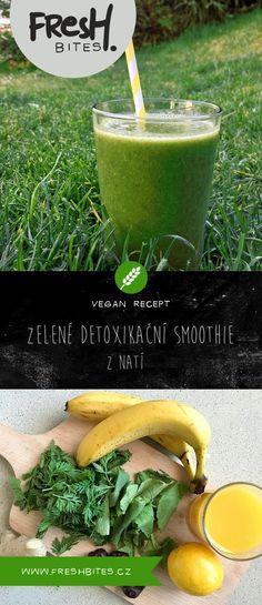Potřebujete pořádné detoxikační smoothie plné vitamínů? Zkuste využít zeleninové natě ze zahrádky, které by jinak skončily na kompostu. Hodit se vám budou listy ze ředkviček, nebo třeba nať z mrkve.  #freshbites #freshbitesrecipe #freshrecipe #smoothie #banana #greenherbs #vegetable #banan #zelenina #mrkvovanat #rekvickovelisty #lactosefree #nomilknosugar #bezmleka #bezlaktozy #bezcukru #vegan #vegetarian #smoothieoftheday #ginger #zazvor #detox #greensmoothie Cantaloupe, Smoothies, Fruit, Food, Compost, Smoothie, Essen, Meals, Yemek