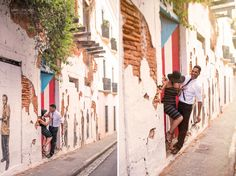 Old San Juan Puerto Rico Photo Session - Engagement