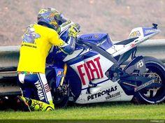 Valentino Rossi, goodbye baby #46