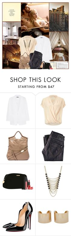 """Good Company And Summer Nights"" by kittyfantastica ❤ liked on Polyvore featuring ZiGiny, DKNY, Miss Selfridge, Foley + Corinna, Pepe Jeans London, Giorgio Armani, Lane Bryant, Christian Louboutin and Maison Margiela"