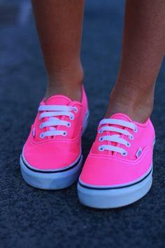 pink vans - ☮k☮ #pink