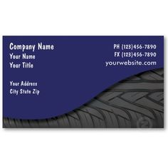 Tires auto repair business card business cards tired and business josh just picked up these automotive business cards with tire tread design and text area you can customize to suit your auto business colourmoves