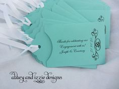 Personalized Lottery Ticket Holder, Rehearsal dinner favors, engagement party, by abbey and izzie designs