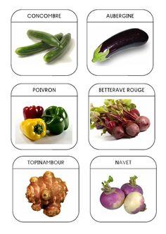 Imagier du jardin - Les légumes 3