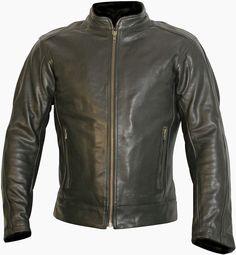 b06e8e024675c Buffalo Navigator Leather Motorcycle Jacket (Black or Brown)