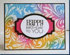 Just Stamp It!: More Birthday Cards