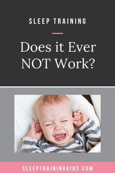 Does Sleep Training Ever Not Work? – Sleep Training Kids Toddler Sleep, Baby Sleep, Parenting Humor, Parenting Hacks, Ferber Method, Baby Handling, Sleep Training Methods, Health Advice, Health Care