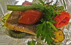 Aprenda a fazer um delicioso Peixe assado com legumes