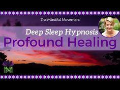 Use Your Powerful Mind: Healing Sleep Hypnosis / Deep Sleep Meditation / Mindful Movement Deep Sleep Meditation, Guided Mindfulness Meditation, Breathing Meditation, Healing Meditation, Meditation Music, Anxiety Relief, Stress And Anxiety, Cant Sleep Remedies, Sound Healing