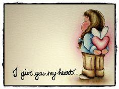 Papirrommet: Sukkersött Valentinskort