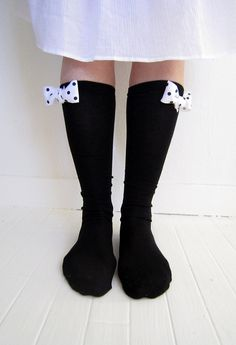 embellished socks for peeking out of boots - tutorial by alisaburke.blogspot.com