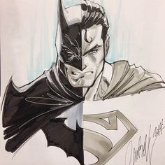 Batman/Superman from the great J. Scott Campbell! #comicbooks