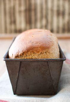 Homemade bread - love the smell of it baking.  It is soooooooooo good while it is still warm.