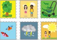 Summer Topic Bingo Cards