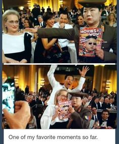 [GoldenGlobe 2015] I literally screamed when this happened. Never change, Benedict.