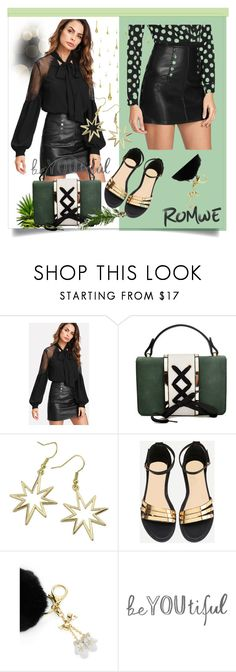 """""""Look At Me../Romwe 1/VI"""" by lightstyle ❤ liked on Polyvore featuring modern"""