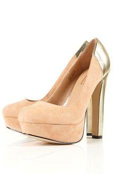 love these blush heels