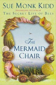 """""""The Mermaid Chair"""" by Sue Mond Kidd """"At forty-two, I had never done anything that took my own breath away, and I suppose now that was part of the problem--my chronic inability to astonish myself. I promise you, no one judges me more harshly than I do myself; I caused a brilliant wreckage. Some say I fell from grace; they're being kind. I didn't fall. I dove.""""  ― Sue Monk Kidd, The Mermaid Chair"""