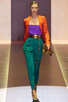 Color Combinations For Clothes, Color Blocking Outfits, Runway Fashion, Fashion News, Womens Fashion, Milan Fashion, Fashion Fashion, Fashion Colours, Colorful Fashion