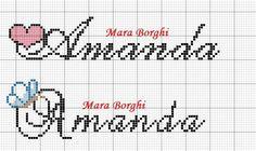 Detalhes que Encantam: Gráficos de Nomes ABC