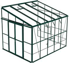 Bosworth 810 Green greenhouse