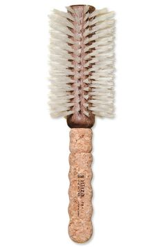 """For Blowing Out Fine Hair. """"Soft boar and nylon bristles provide gentle tension for fragile strands, creating volume without damaging hair,"""" says L. Short Hairstyles For Women, Trendy Hairstyles, 2015 Hairstyles, Creative Hairstyles, Haircuts, Best Round Brush, Medium Hair Styles, Curly Hair Styles, Best Hair Brush"""