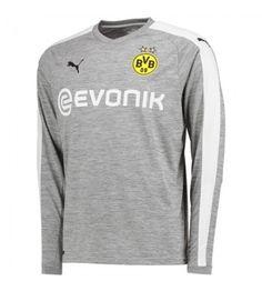 Billiga Dortmund Tredje Tröja 17-18 Långärmad Manchester United, Long Sleeve, Sleeves, Mens Tops, T Shirt, Fashion, Football Shirts, Wraps, Goaltender