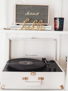 Crosley Record Player. - KATE LA VIE
