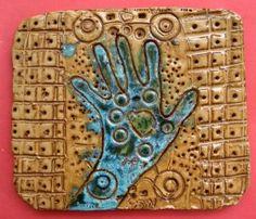 clay hands texture