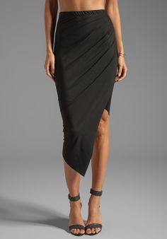 Boulee Sia Skirt in Black $121. But do I really need ANOTHER black skirt? (short answer = Yes!)