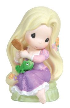 Precious Moments - Disney Disney's Princess from the Tangled Movie This figurine looks adorable ! Tangled Up In Your Love Disney Precious Moments, Precious Moments Figurines, Disney Figurines, Collectible Figurines, Tangled Up In You, Biscuit, Quinceanera Favors, Disney Collection, Disney Rapunzel