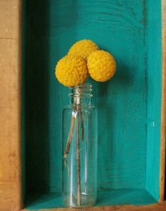 Billy Balls in a bottle... would be cool to do yellow cake balls on sticks.