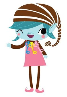 Girl Scout Brownie Elf Clipart