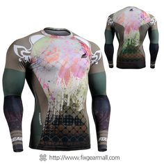 #FIXGEAR #Compression Base Layer Long Sleeve #Shirts, model no CFL-42, Skin Tights and Advanced Performance Fabric. ( #AeroFIX ) #Rashguard #Workout #Fitness #Crossfit #Training #MMA #Jujitsu #Yoga