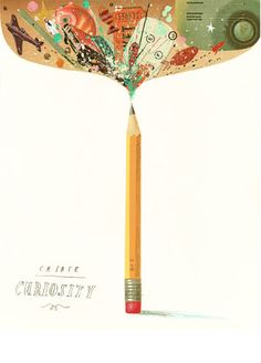 Create curiosity + Illustration | Oliver Jeffers                                                                                                                                                                                 More