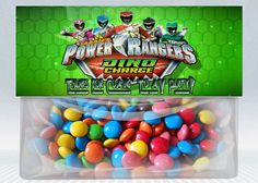 Power Rangers Dino Charge Personalized Birthday by DigiKidsDesign