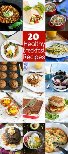 All of our favorite healthy breakfast recipes in one place! There's something here for everyone - kids and adults, busy weekday and lazy weekends.