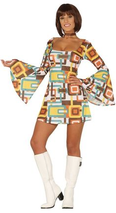 70s Outfits, Disco Outfits, Ugly Outfits, Hippy Fashion, Disco Fashion, Disco Girl Costume, Go Go Dancer Costume, 70s Party Outfit, Casual Festival Outfit