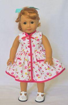 American Girl Doll Shoes, American Girl Dress, American Girl Crafts, American Doll Clothes, Ag Doll Clothes, Doll Clothes Patterns, American Girls, Doll Patterns, Girl Dolls