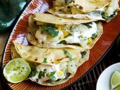 Sabrina's Tacos - Inspired by a delicious meal enjoyed on the Yucatan Peninsula, Bittman shares this recipe for Sabrina's Tacos with roasted chiles, corn, potatoes and onions.