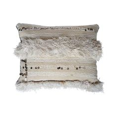 Image of Vintage Moroccan Wedding Handira Pillow