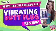 Vibrating Butt Plug Review for Beginners | First Time Surge Vibrating An... Adam And Eve, Better One, First Time, Plugs, Pure Products, Toys, Blond, Adam An Eve, Activity Toys
